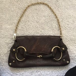 Authentic USED Gucci shoulder bag.